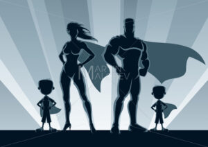 Superhero Family 2 Boys - Martin Malchev