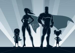 Superhero Family 2 Girls - Martin Malchev