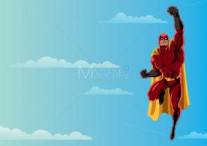 Superhero Flying 2 Sky - Martin Malchev