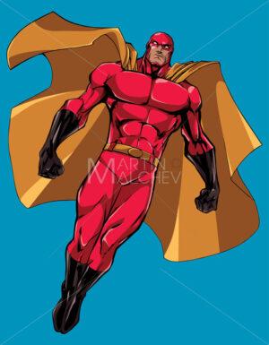 Superhero Flying Isolated - Martin Malchev