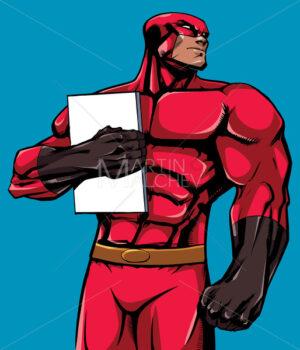 Superhero Holding Book 2 - Martin Malchev