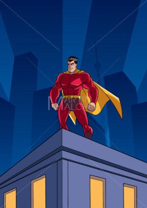 Superhero Roof Watching - Martin Malchev
