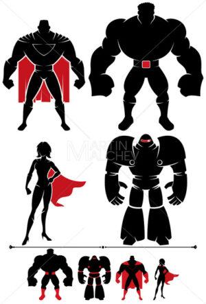 Superhero Silhouette - Martin Malchev