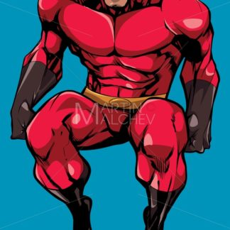 Superhero Sitting No Cape - Martin Malchev