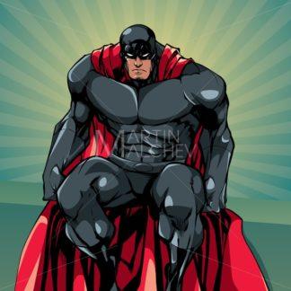 Superhero Sitting Ray Light - Martin Malchev