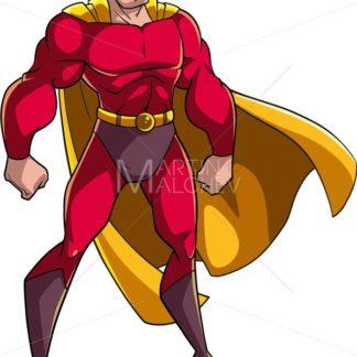 Superhero Standing Tall - Martin Malchev