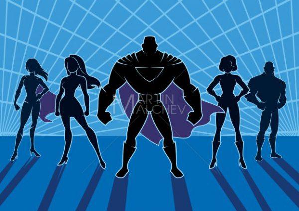 Superhero Team 2 - Martin Malchev