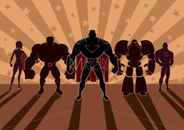 Superhero Team - Martin Malchev