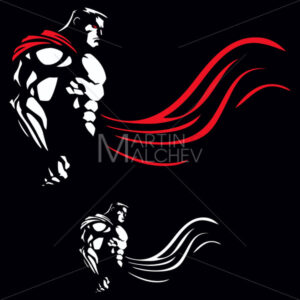 Superhero on Black - Martin Malchev