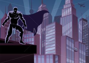Superhero on Roof - Martin Malchev