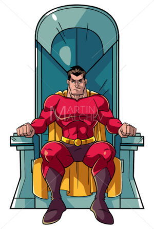 Superhero on Throne - Martin Malchev
