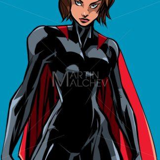 Superheroine Battle Mode No Mask - Martin Malchev