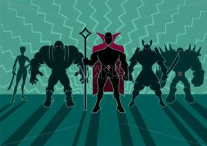 Supervillain Team - Martin Malchev