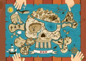 Treasure Map on Desk - Martin Malchev