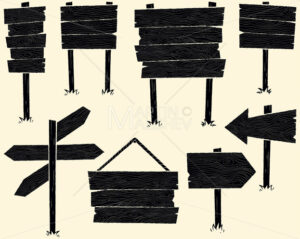 Wooden Signs - Martin Malchev