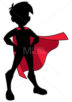 Super Boy Silhouette - Martin Malchev