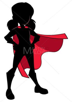 Super Girl Silhouette - Martin Malchev
