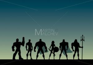 Super Team Cartoon - Martin Malchev