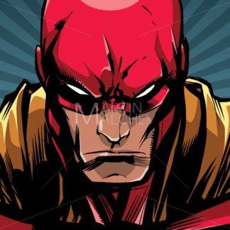 Superhero Portrait Ray Light - Martin Malchev