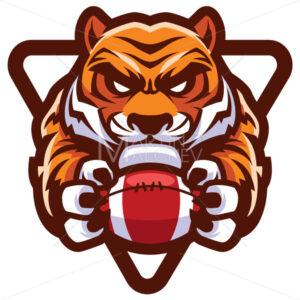 Tiger American Football Mascot - Martin Malchev