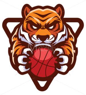 Tiger Basketball Mascot - Martin Malchev