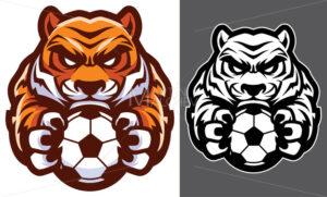 Tiger Football Soccer Mascot - Martin Malchev