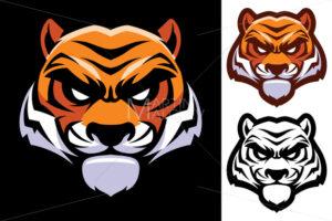 Tiger Head Mascot - Martin Malchev