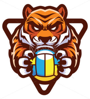 Tiger Volleyball Mascot - Martin Malchev