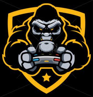 Gorilla Gamer Mascot - Martin Malchev
