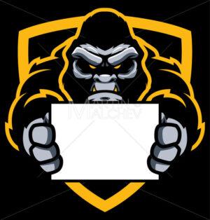 Gorilla Sign Mascot - Martin Malchev