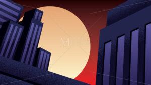 Superhero Background Night - Martin Malchev