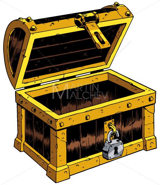 Empty Chest Wooden - Martin Malchev