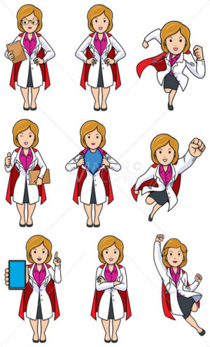 Super Doc Caucasian Female Set - Martin Malchev