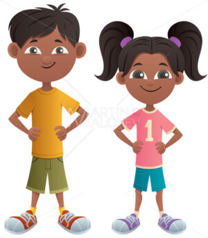 Boy and Girl Indian - Martin Malchev