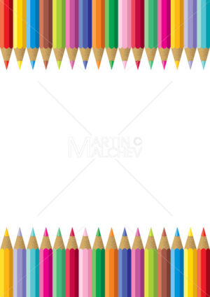 Colorful Pencil Frame - Martin Malchev