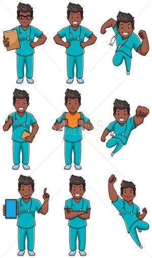 Nurse Indian Male Set - Martin Malchev