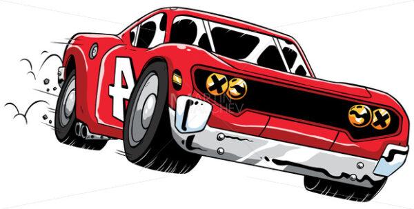 Race Car Speeding - Martin Malchev