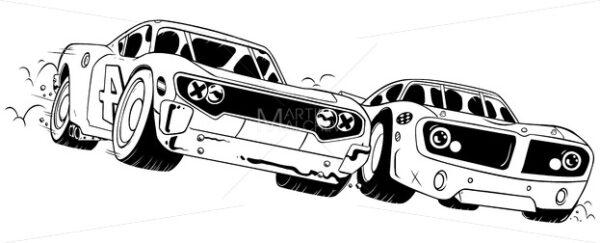Race Line Art - Martin Malchev