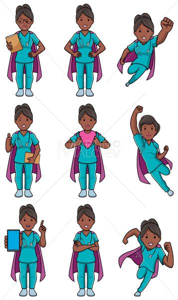 Super Nurse Indian Female Set - Martin Malchev