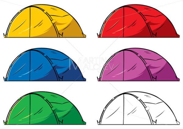 Tent on White - Martin Malchev