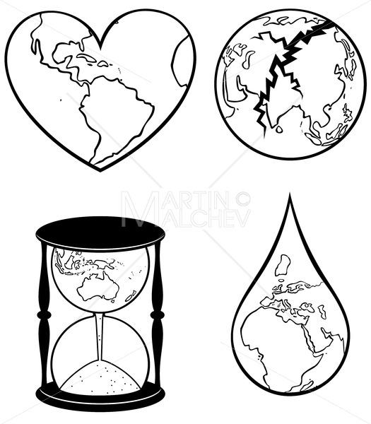 Ecology Concepts 2 Line Art - Martin Malchev