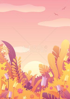 Nature Background Autumn Sky - Martin Malchev