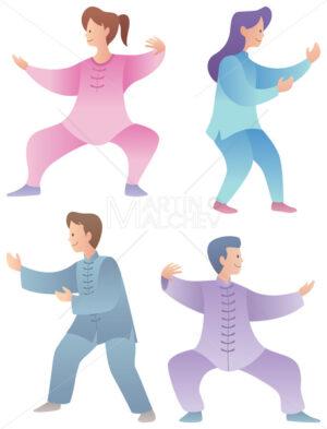 Qigong Characters Set - Martin Malchev