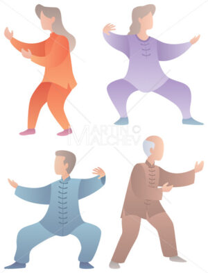 Qigong Senior Characters Set - Martin Malchev