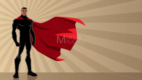 Superhero Black Ray Light - Martin Malchev