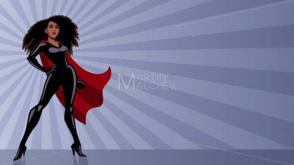 Superheroine Black Ray Light - Martin Malchev