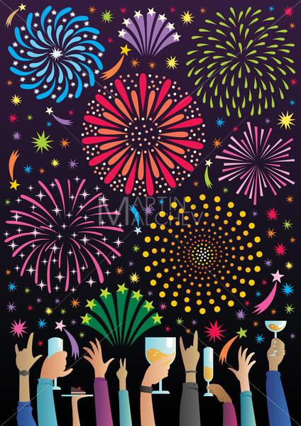 Celebration with Fireworks - Martin Malchev