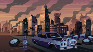 City in Ruins - Martin Malchev