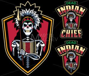 Dead Indian Chief Mascot - Martin Malchev