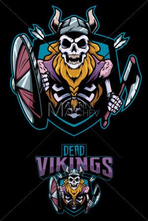 Dead Vikings Mascot - Martin Malchev